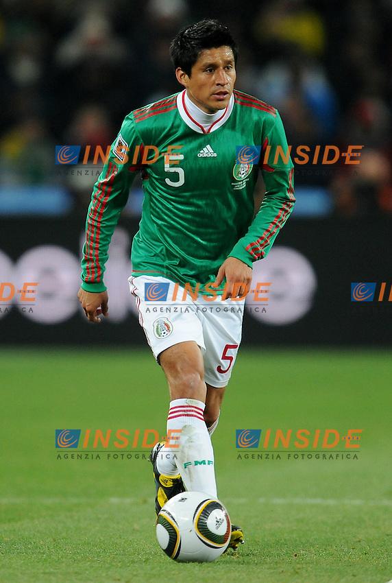 Ricardo Osorio (Messico)<br /> Argentina Messico 3-1 - Argentina vs Mexico 3-1<br /> Campionati del Mondo di Calcio Sudafrica 2010 - World Cup South Africa 2010<br /> Soccer City Stadium, Johannesburg, 27 / 06 / 2010<br /> &copy; Giorgio Perottino / Insidefoto