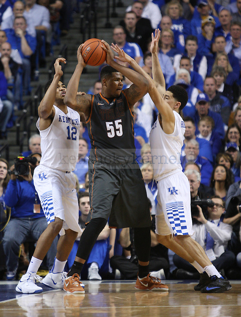 during UK vs. Texas at Rupp Arena in Lexington, Ky., on Friday, December 5,  2014. Photo by Emily Wuetcher | Staff