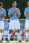 29 November 2009: UNC's Daniel Tannous (CAN). The University of North Carolina Tar Heels defeated the Indiana University Hoosiers 1-0 at Fetzer Field in Chapel Hill, North Carolina in an NCAA Division I Men's Soccer Tournament Third Round game.