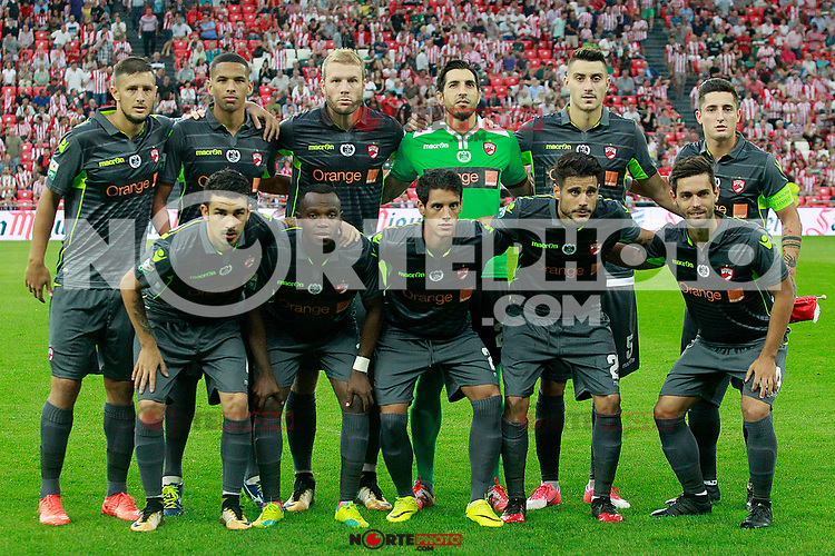FC Dinamo Bucuresti's team photo during Europa League Third Qualifying Round, 2nd leg. April 5,2012. (ALTERPHOTOS/Acero) /NortePhoto.com