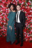 NEW YORK, NY - JUNE 10: Indya Moore and Joseph Altuzarra at the 72nd Annual Tony Awards at Radio City Music Hall in New York City on June 10, 2018.