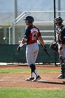 Mark Mathias - Cleveland Indians 2016 spring training (Bill Mitchell)