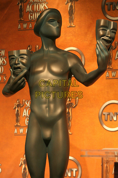 ATMOSPHERE.13th Annual Screen Actors Guild Awards Nominations held at the Pacific Design Center, West Hollywood, California, USA..January 4th, 2007.gold statue.CAP/ADM/ZL.©Zach Lipp/AdMedia/Capital Pictures