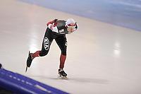 SCHAATSEN: HEERENVEEN: IJsstadion Thialf, 11-01-2013, Seizoen 2012-2013, Essent ISU EK allround, 5000m Men, Haralds Silovs (LAT), ©foto Martin de Jong