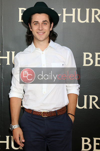 David Henrie<br /> at the &quot;Ben-Hur&quot; Premiere, TCL Chinese Theater IMAX. Hollywood, CA 08-16-16<br /> David Edwards/DailyCeleb.com 818-249-4998