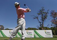 King of swing, George Coetzee (RSA) caught by the remote camera on the 4th tee during the practice day ahead of the Tshwane Open 2015 at the Pretoria Country Club, Waterkloof, Pretoria, South Africa. Picture:  David Lloyd / www.golffile.ie. 10/03/2015