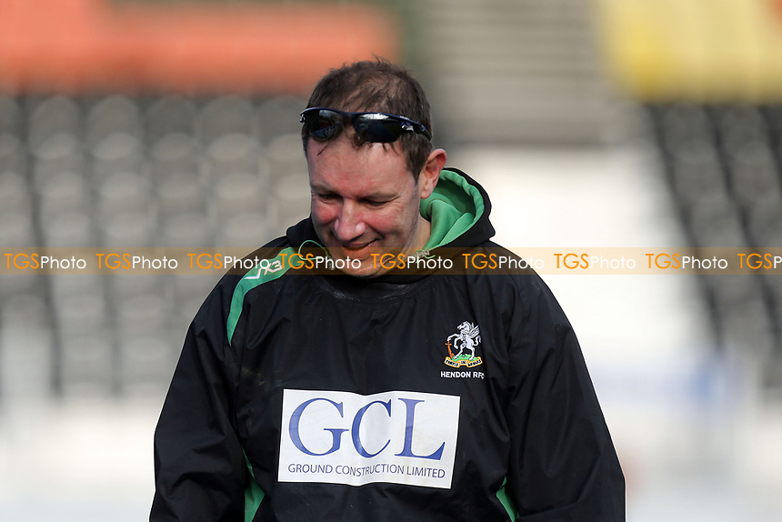 Hendon coach Phil Smith after Hendon RFC vs Cranbrook RFC, RFU Junior Vase Rugby Union at Allianz Park on 14th March 2020