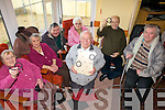 RINGS: Some of the participants in the Ballybunion ring tossing championships enjoying the fun and games at the Towers Centre last Thursday, front: Kevin Watts. Back l-r: Nellie Leahy, Ita Breen, Tim Buckley, Gladys Dempsey, Sam Bennett, Teddy Harty.