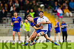 Bryan Sheehan Saint Mary's in action against Shane Cronin Spa after losing the Intermediate final at Fitzgerald Stadium on Sunday.