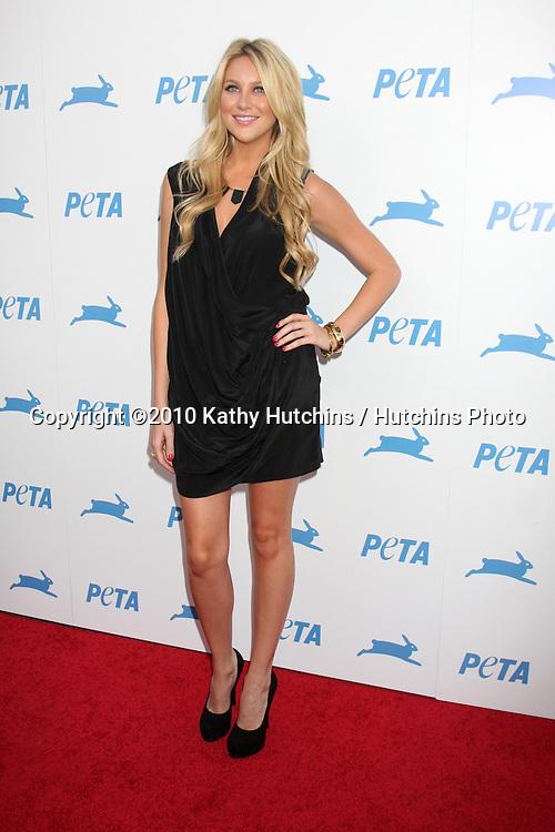LOS ANGELES - SEP 25:  Stephanie Pratt arrives at the PETA 30th Anniversary Gala at Hollywood Palladium on September 25, 2010 in Los Angeles, CA