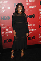 www.acepixs.com<br /> April 18, 2017  New York City<br /> <br /> Kyanna Simone attending 'The Immortal Life of Henrietta Lacks' premiere at SVA Theater on April 18, 2017 in New York City.<br /> <br /> Credit: Kristin Callahan/ACE Pictures<br /> <br /> <br /> Tel: 646 769 0430<br /> Email: info@acepixs.com