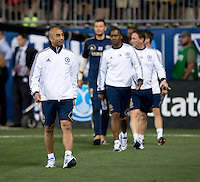 Roberto Di Matteo.  The MLS All-Stars defeated Chelsea, 3-2.