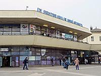 Hauptbahnhof von  Bratislava, Bratislavsky kraj, Slowakei, Europa<br /> Mainstation of Bratislava, Bratislavsky kraj, Slowakia, Europe