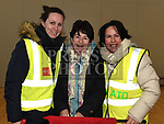 Christine McCabe, Marina Mullen and Maria Reilly who took part in the Duleek Parish School cycle. Photo:Colin Bell/pressphotos.ie