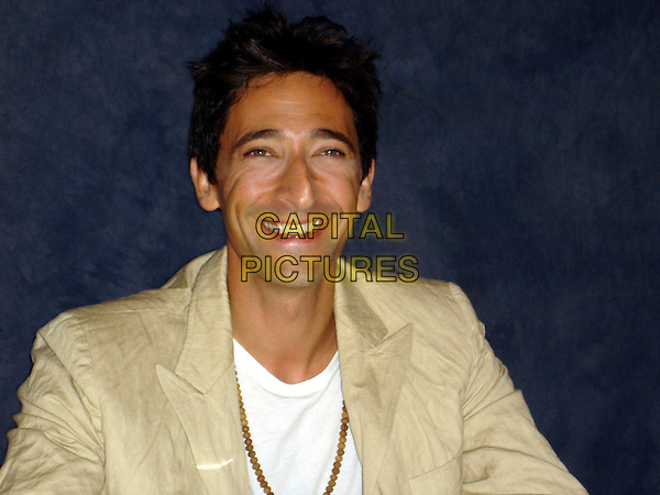 "ADRIEN BRODY       .Photocall for ""Hollywoodland"", Los Angeles, USA..August 2006.Ref: AW.headshot portrait Adrian.www.capitalpictures.com.sales@capitalpictures.com.©Anita Weber/Capital Pictures."