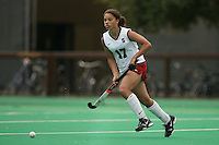 STANFORD, CA - AUGUST 19:  Rachel Bush of the Stanford Cardinal during Stanford's 4-1 exhibition win over the University of the Pacific on August 19, 2008 at the Varsity Field Turf in Stanford, California.