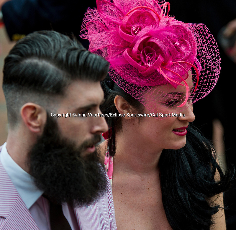 May 2, 2014: Scenes from around the track on Kentucky Oaks Day at Churchill Downs in Louisville, KY. John Voorhees/ESW/CSM
