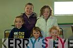 Ballyduff Coursing: Clodagh Carroll, Jade Lynch, Kayleigh Elbell. Back: Amy Lynch and Aoife O'Carroll.