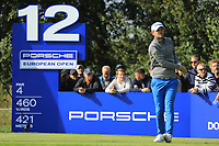 Bernd Wiesberger (AUT) during the second round of the Porsche European Open , Green Eagle Golf Club, Hamburg, Germany. 06/09/2019<br /> Picture: Golffile | Phil Inglis<br /> <br /> <br /> All photo usage must carry mandatory copyright credit (© Golffile | Phil Inglis)
