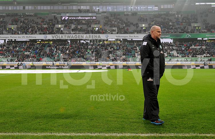 FUSSBALL   1. BUNDESLIGA    SAISON 2012/2013    13. Spieltag   VfL Wolfsburg - SV Werder Bremen                          24.11.2012 Trainer Thomas Schaaf (SV Werder Bremen)  in der Volkswagen Arena