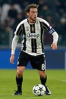 Claudio Marchisio Juventus<br /> Torino 07-12-2016 Juventus Stadium Football Calcio Champions League 2016/2017 Juventus - Dinamo Zagreb . Foto Filippo Alfero Insidefoto