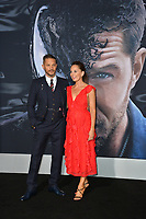 "LOS ANGELES, CA. October 01, 2018: Tom Hardy & Kelly Marcel at the world premiere for ""Venom"" at the Regency Village Theatre.<br /> Picture: Paul Smith/Featureflash"