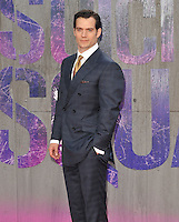 Henry Cavill at the &quot;Suicide Squad&quot; European film premiere, Odeon Leicester Square cinema, Leicester Square, London, England, UK, on Wednesday 03 August 2016.<br /> CAP/CAN<br /> &copy;CAN/Capital Pictures /MediaPunch ***NORTH AND SOUTH AMERICAS ONLY***