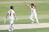Ryan ten Doeschate of Essex appeals for the wicket of Grant Stewart during Essex CCC vs Kent CCC, Bob Willis Trophy Cricket at The Cloudfm County Ground on 1st August 2020