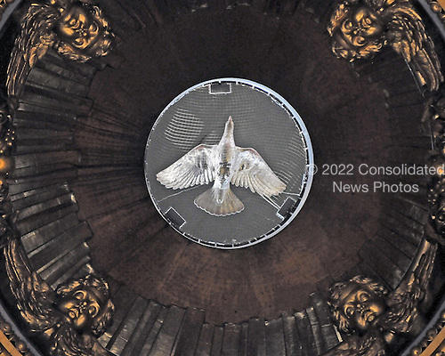 St. Petersburg, Russia - August 15, 2009 -- Interior of the dome in St. Isaac's Cathedral in St. Petersburg, Russia on Saturday, August 15, 2009..Credit: Ron Sachs / CNP