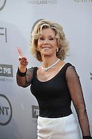 Jane Fonda at the 2014 American Film Institute's Life Achievement Awards honoring Jane Fonda, at the Dolby Theatre, Hollywood.<br /> June 5, 2014  Los Angeles, CA<br /> Picture: Paul Smith / Featureflash
