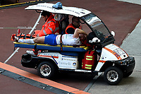 Leonardo Ghiraldini Injured <br /> Roma 16-03-2019 Stadio Olimpico<br /> Rugby Six Nations tournament 2019  <br /> Italy - France <br /> Foto Andrea Staccioli / Insidefoto