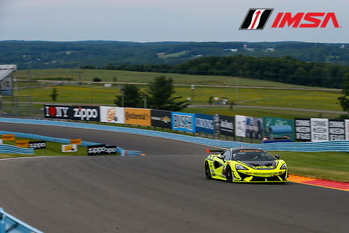 IMSA Continental Tire SportsCar Challenge<br /> Continental Tire 120 at The Glen<br /> Watkins Glen International, Watkins Glen, NY USA<br /> Thursday 29 June 2017<br /> 7, McLaren, McLaren GT4, GS, Alan Brynjolfsson, Chris Hall<br /> World Copyright: Jake Galstad/LAT Images