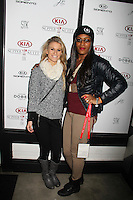 Charly Mapes, Mya Taylor<br /> KIA SUPPER SUITE BY STK hosts a cast dinner for films, THE OVERNIGHT, TANGERINE & ANIMALS, Handle Restaurant and Bar, Park City, UT 01-24-15<br /> David Edwards/DailyCeleb.com 818-915-4440
