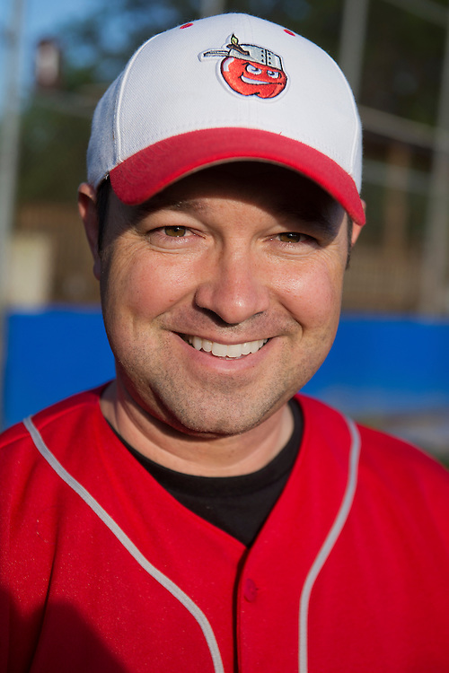 UNITED STATES - MAY 14: Rep. Marlin Stutzman, R-Ind., attends Republican baseball practice in Alexandria, Va., May 14, 2015. (Photo By Tom Williams/CQ Roll Call)
