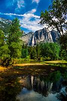 California-Yosemite NP-Waterfalls