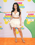 Kim Kardashian attends The 24th Annual Kids' Choice Awards held at USC's Galen Center in Los Angeles, California on April 02,2011                                                                               © 2010 DVS / Hollywood Press Agency