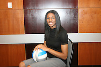 15 December 2006: Stanford Cardinal Foluke Akinradewo was named to the First Team during Stanford's 2006 American Volleyball Coaches Association (AVCA) Division I All-American Teams Award Banquet at the Qwest Center in Omaha, NE.