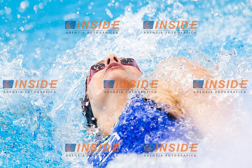 PANZIERA Margherita ITA<br /> London, Queen Elizabeth II Olympic Park Pool <br /> LEN 2016 European Aquatics Elite Championships <br /> Swimming<br /> Women's 200m backstroke preliminary <br /> Day 08 16-05-2016<br /> Photo Giorgio Perottino/Deepbluemedia/Insidefoto