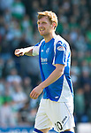 St Johnstone FC Season 2012-13.Liam Craig.Picture by Graeme Hart..Copyright Perthshire Picture Agency.Tel: 01738 623350  Mobile: 07990 594431