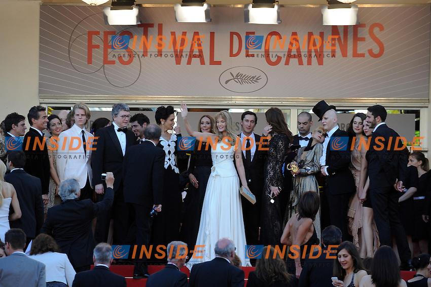 Audrey Marnay, Arielle Dombasle, Farida Khelfa. .Cannes 23/5/2013 .66mo Festival del Cinema di Cannes 2013 .Foto Panoramic / Insidefoto .ITALY ONLY