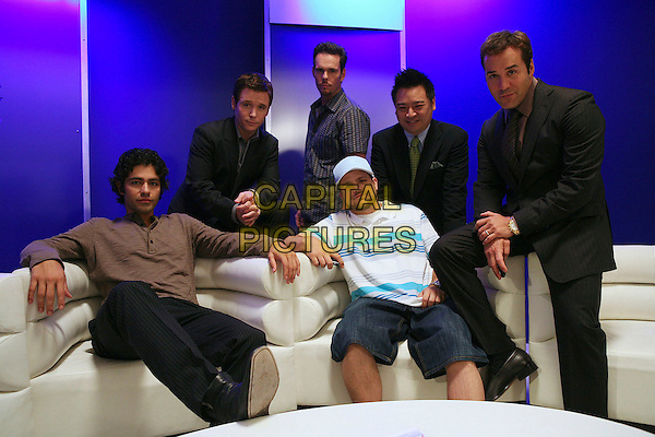 ADRIAN GRENIER, KEVIN CONNOLLY, KEVIN DILLON, JERRY FERRARA, REX LEE & JEREMY PIVEN.in Entourage (Season 5).*Filmstill - Editorial Use Only*.CAP/AW.Supplied by Capital Pictures.