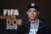 Fussball International  FIFA Ballon d Or / Weltfussballer 2012   PK   07.01.2013 Cristiano Ronaldo (Portugal)