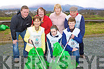 Tralee Road, Killarney residents who launched their 2010 National Spring Clean in Killarney on Monday front row l-r: Kathleen O'Regan-Sheppard, Sarah kenny, Eileen Moynihan. back row: Philip O'Callaghan, Yvonne Quill, Kathleen Foley and Pat Moriarty
