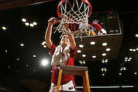 25 February 2007: Michelle Harrison during Stanford's 56-53 win over USC at Maples Pavilion in Stanford, CA.
