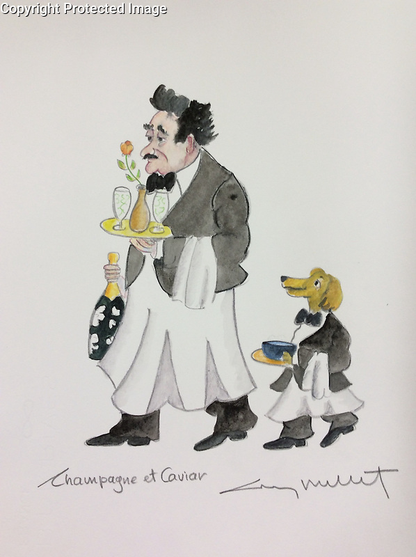 &quot;Champagne et Caviar&quot;<br />