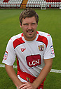 Scott Laird of Stevenage  at the Stevenage FC team photo shoot at The Lamex Stadium, Broadhall Way, Stevenage on Saturday, 24th July, 2010.© Kevin Coleman 2010