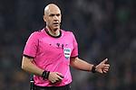 The referee Anthony Taylor during the UEFA Champions League match at Juventus Stadium, Turin. Picture date: 26th November 2019. Picture credit should read: Jonathan Moscrop/Sportimage