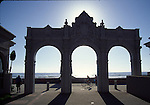 Arch at Belmont Park in Mission Beach