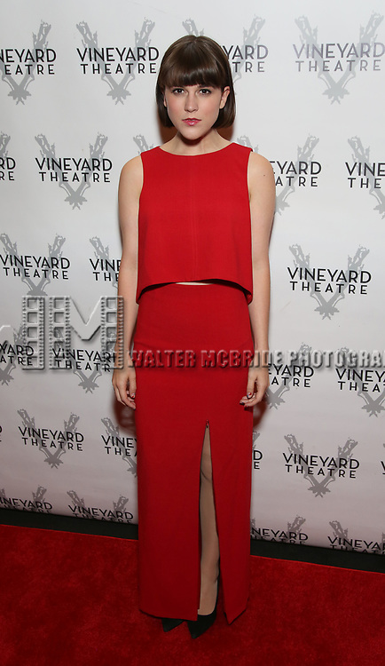 Alexandra Socha attends the Vineyard Theatre Gala 2018 honoring Michael Mayer at the Edison Ballroom on May 14, 2018 in New York City.