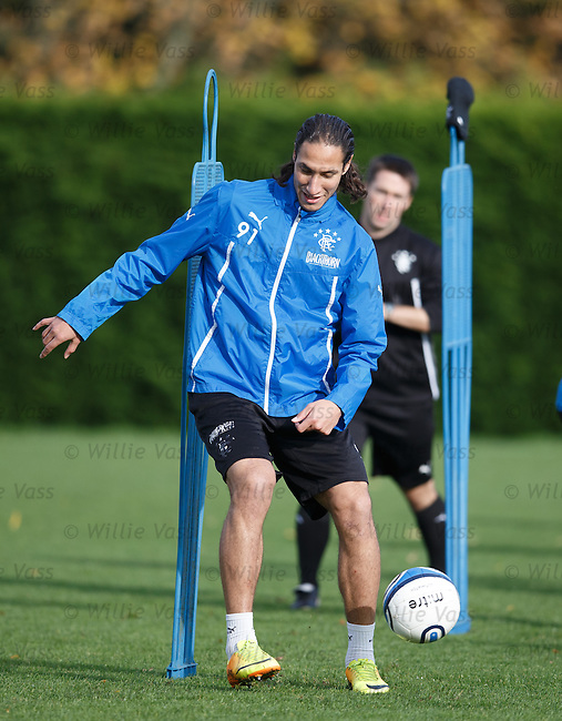 Bilel Mohsni perfecting his touch